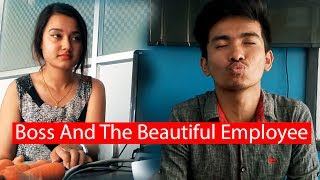 The Boss And The Beautiful Employee | Soltini | Nepali Short Movie | Colleges Nepal Video