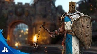 For Honor -The Conquerer: Hero Series #6 Gameplay Trailer | PS4