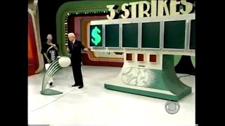 """The Price Is Right:  May 14, 1998  (Debut Of """"One Strike In The Bag"""" Rule In 3 Strikes!)"""