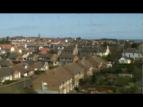 Berwick-Upon-Tweed from the East Coast main line