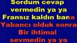 Türkce Karaoke - Nazan Öncel - Askim Baksana Bana