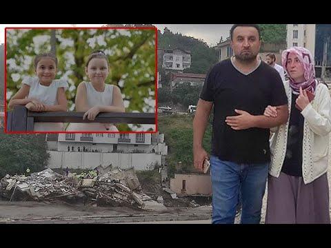 Tatil İçin Bozkurt'a Gelen İkizler Binanın Çökmesiyle Babaanneleri Ve Dedeleriyle Selde Kayboldu