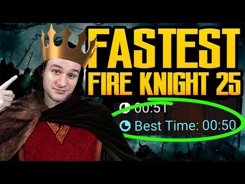 FASTEST Fire Knight 25 I Raid Shadow Legends
