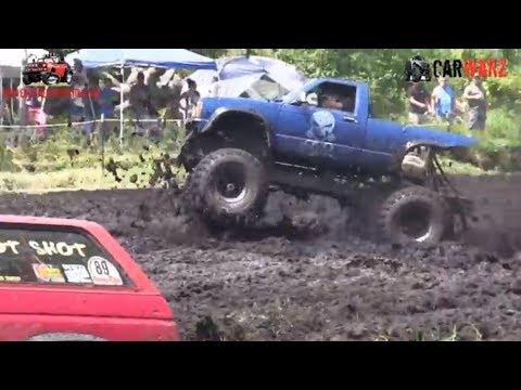 Little Blue Chevy Mudding At Perkins Summer Sling Mud Bog 2018