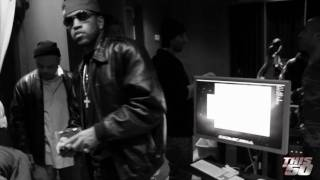 Beamer, Benz, or Bentley by Lloyd Banks - Video Shoot + Studio Performance | BTS | 50 Cent Music