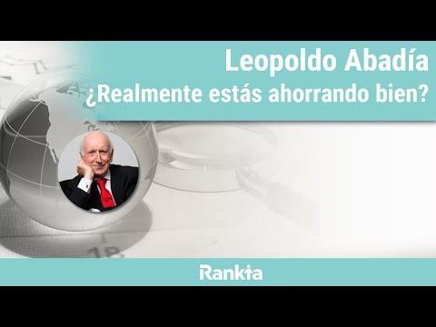 """El reconocido autor de """"La Crisis Ninja"""", Leopoldo Abadía, hablará sobre las bases para un buen ahorro, cómo descubrió los Roboadvisors como una  alternativa efectiva  y por qué decidió confiar en Finanbest."""