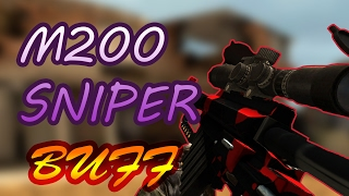 BULLET FORCE - SNIPER BUFF AWESOMENESS - M200 GAMEPLAY !!!