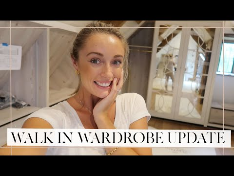 CLOSET ROOM UPDATE! We're Halfway There! & Sausage Dog Walk! // Fashion Mumblr