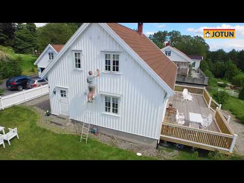 Jotun OPTIMAL Optiwhite - färgen för dig som har ett vitt hus