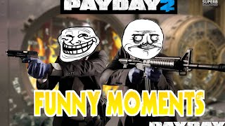 PAYDAY 2 Funny Moments! (Joker, Dark Knight, American Idol, Thief)