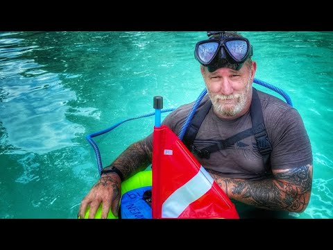 Diving without a tank? Testing the BLU3 Nemo