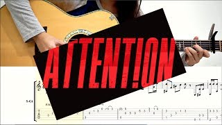 (Charlie Puth) Attention - Fingerstyle TABS | Josephine Alexandra