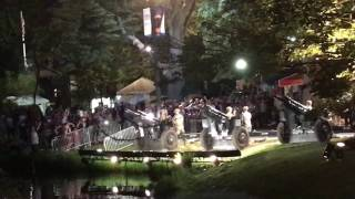 Real cannon- 1812 overture on July 4, 2017