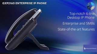 Grandstream GXP2160 Enterprise IP Phone  Credit : GrandstreamNetworks