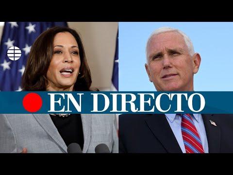 DIRECTO EEUU | Mike Pence y Kamala Harris, frente a frente en el debate de los vicepresidentes