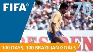 100 Great Brazilian Goals: #70 Jairzinho (Mexico 1970)