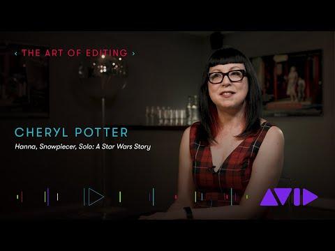 Editor Cheryl Potter (Hanna, Snowpiercer, Solo: A Star Wars Story)