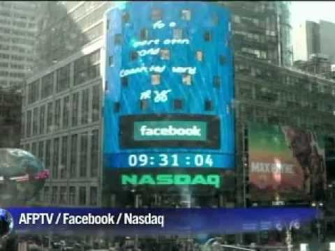 Mark Zuckerberg fête l'entrée en bourse de Facebook