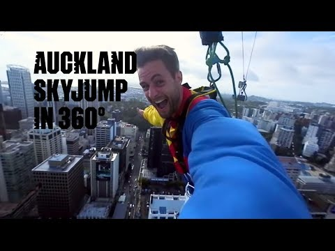 SkyJump in 360 – Auckland, New Zealand