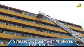Simulacro de Sismo y Tsunami