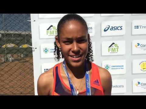 Alexandra Silva é campeã brasileira de 14 anos