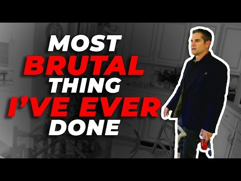 Most Brutal thing I've EVER done - Grant Cardone photo