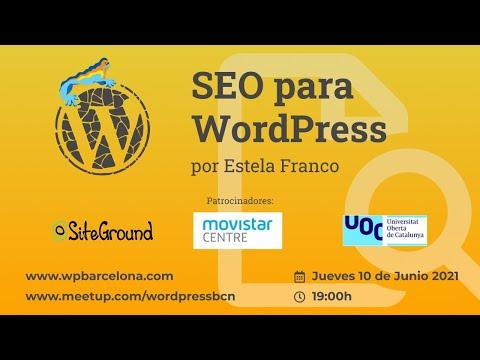 [ONLINE] SEO para WordPress por Estela Franco