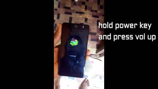 HOW TO Hardreset tecno camon cx air & CX Without pc