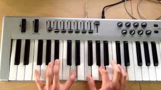 "N.E.R.D (The Neptunes) - ""Tape You"" Outro (Also Justin Timberlake's ""Second Chance"") Cover on Piano"