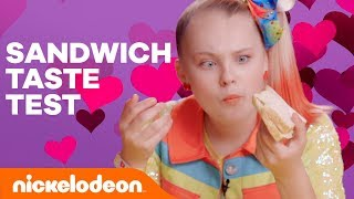 Back to School Sandwich 🥪 Taste Test w/ JoJo Siwa, Hannah Hart & More!   VidCon 2018