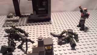 Halo Mega Bloks Stop Motion RVSB project freelancer character intro