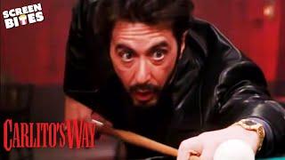 Carlito's Way - Snooker scene OFFICIAL HD VIDEO Al Pacino, Sean Penn, Penelope Ann Miller