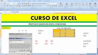 Proteger dados planilha Excel senha Bloquear Validar pasta documento segurança informação