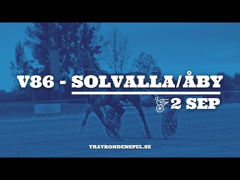V86 tips Solvalla/Åby - 2 september 2020