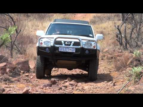Grootwater 4×4 up hill section in Limpopo