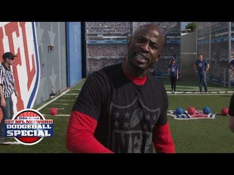 NFL Network Media Dodgeball Tournament: Total Access vs. NFL NOW | 2017 Pro Bowl