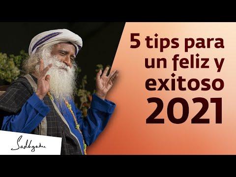 5 consejos para un 2021 alegre y exitoso | Sadhguru