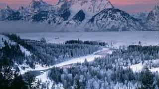 Beautiful Winter pictures with relaxing piano music