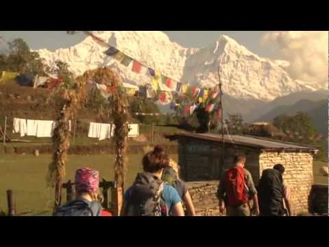 Student Trek in Nepal with World Youth Adventures