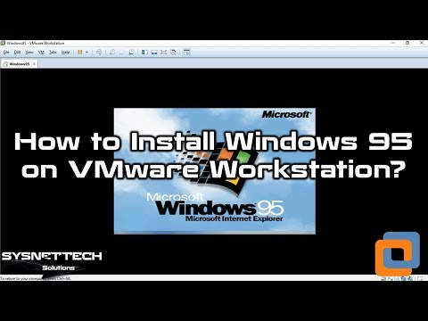 VMware Workstation Kullanarak Windows 95 Kurulumu