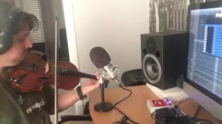"""Κωνσταντίνος Αργυρος """" στη δίκη μου αγκαλια """" strings recording... Χρήστος Μπουσδουκος ( making of )"""