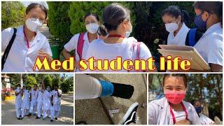 Vlog| life of a koshys medical student (Broken foot,practical exams ,community health nursing