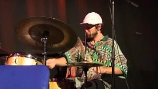 Bodek Janke - great drum solo - live artheater Cologne