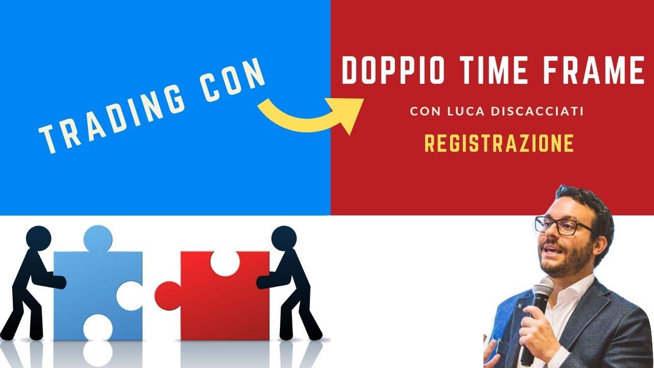 TRADING con DOPPIO TIMEFRAME - Lungo, medio e breve termine