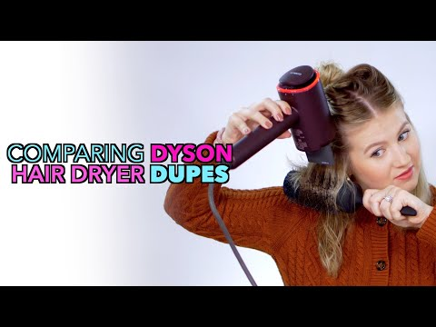 Comparing DYSON Hair Dryer Dupes… Are They Better?
