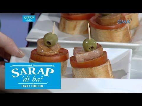 Sarap, 'Di Ba?: How to make delicious canapes | Episode 12