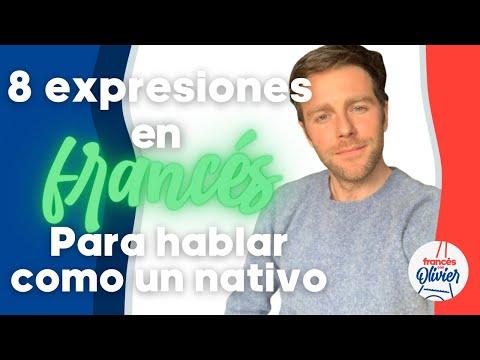 Expresiones más comunes en francés. ¿Las conoces?