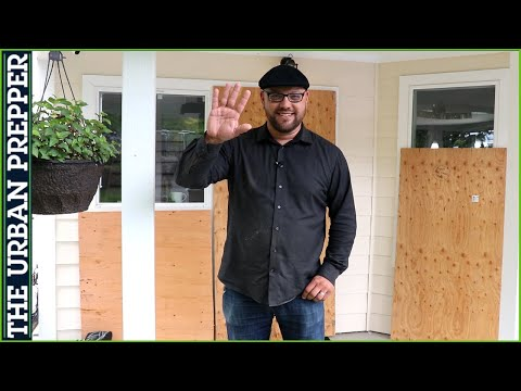 Pre-Cutting Plywood for your Doors and Windows | Home Preps