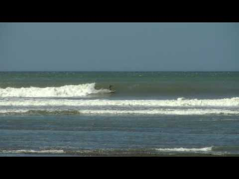 Gnarly Marley Surfing In NIcaragua [HD]