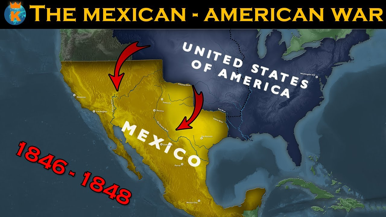 The Mexican-American War - Explained in 16 Minutes